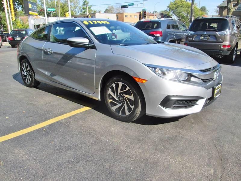 2016 Honda Civic for sale at D'Acquisto Motors in Racine WI