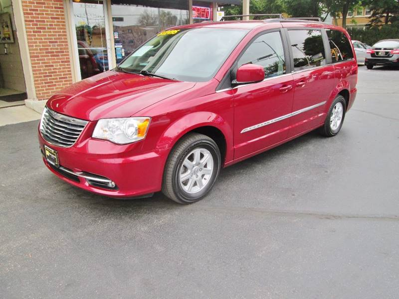 2011 Chrysler Town and Country for sale at D'Acquisto Motors in Racine WI