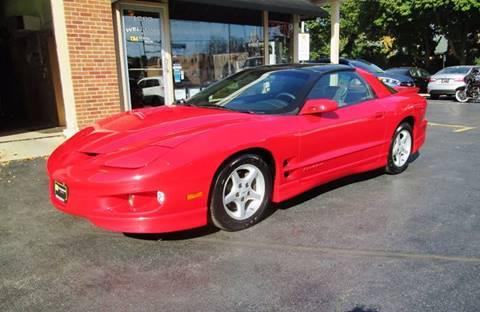 1998 Pontiac Firebird for sale at D'Acquisto Motors in Racine WI