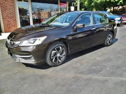 2017 Honda Accord for sale in Racine, WI