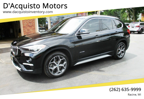2018 BMW X1 for sale at D'Acquisto Motors in Racine WI