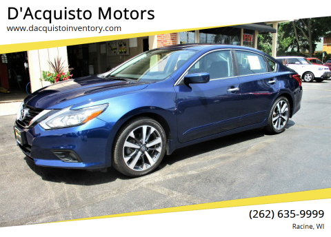2017 Nissan Altima for sale at D'Acquisto Motors in Racine WI