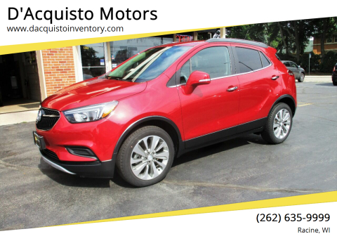 2017 Buick Encore for sale at D'Acquisto Motors in Racine WI