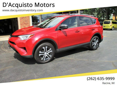 2016 Toyota RAV4 for sale at D'Acquisto Motors in Racine WI