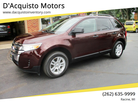 2011 Ford Edge for sale at D'Acquisto Motors in Racine WI