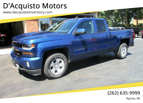 2017 Chevrolet Silverado 1500 for sale at D'Acquisto Motors in Racine WI