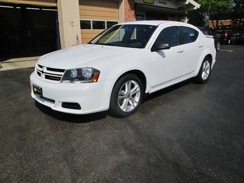 2014 Dodge Avenger for sale at D'Acquisto Motors in Racine WI