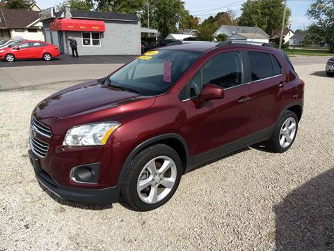 2016 Chevrolet Trax for sale at Economy Motors in Muncie IN