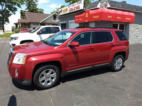 2013 GMC Terrain for sale at Economy Motors in Muncie IN