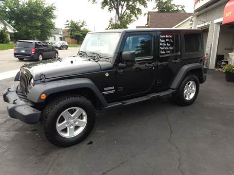 2016 Jeep Wrangler Unlimited for sale at Economy Motors in Muncie IN