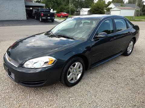 2016 Chevrolet Impala Limited for sale at Economy Motors in Muncie IN
