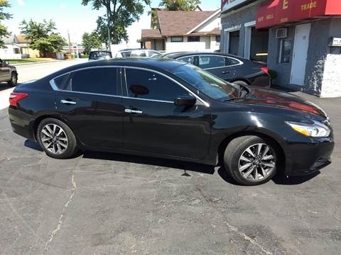 2017 Nissan Altima for sale at Economy Motors in Muncie IN