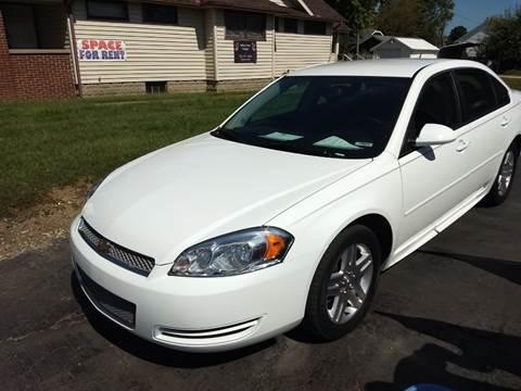 2013 Chevrolet Impala for sale at Economy Motors in Muncie IN