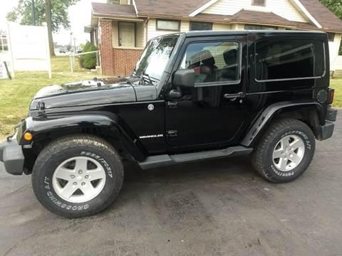 2012 Jeep Wrangler for sale at Economy Motors in Muncie IN