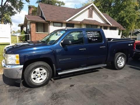 2012 Chevrolet Silverado 1500 for sale at Economy Motors in Muncie IN