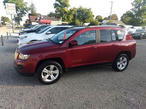 2017 Jeep Compass for sale at Economy Motors in Muncie IN