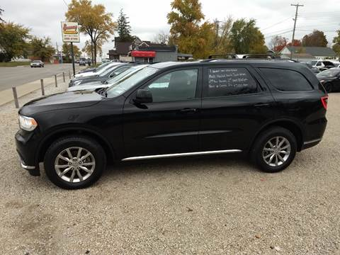 2017 Dodge Durango for sale at Economy Motors in Muncie IN