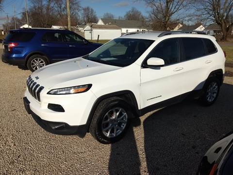 2016 Jeep Cherokee for sale at Economy Motors in Muncie IN