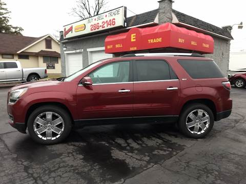 2017 GMC Acadia Limited for sale at Economy Motors in Muncie IN