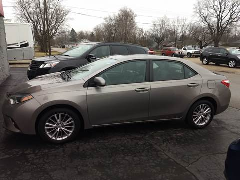 2015 Toyota Corolla for sale at Economy Motors in Muncie IN