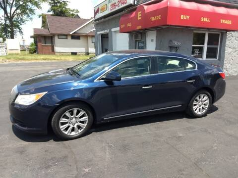 2011 Buick LaCrosse for sale at Economy Motors in Muncie IN