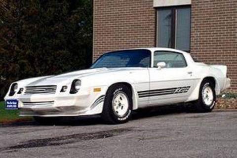 1981 Chevrolet Camaro for sale at The Car Guys RV & Auto in Atlantic IA