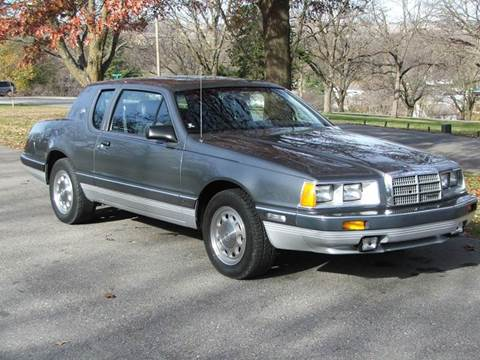 1986 Mercury Cougar For Sale - Carsforsale.com