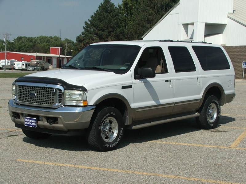 2002 Ford Excursion for sale at The Car Guys RV & Auto in Atlantic IA