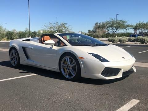 lamborghini gallardo for sale in tempe, az - precision fleet services