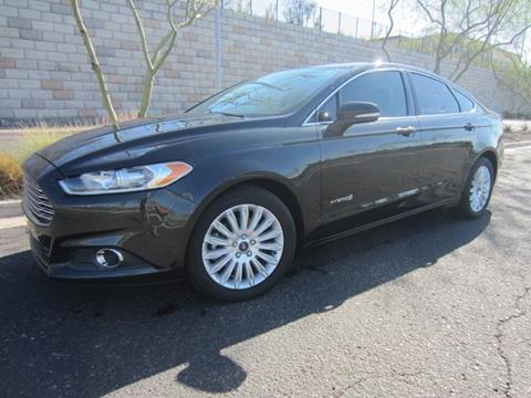 Ford Fusion Hybrid For Sale >> Ford Fusion Hybrid For Sale In Tempe Az Auto House Tempe