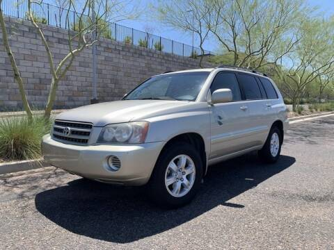 2003 Toyota Highlander for sale at AUTO HOUSE TEMPE in Tempe AZ