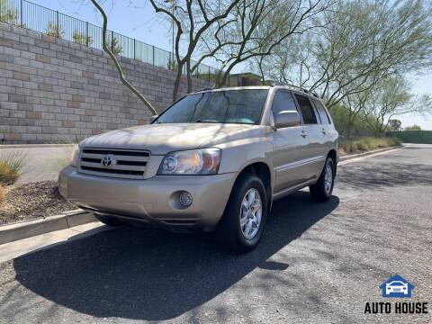 2006 Toyota Highlander for sale at AUTO HOUSE TEMPE in Tempe AZ