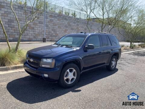 2008 Chevrolet TrailBlazer for sale at AUTO HOUSE TEMPE in Tempe AZ