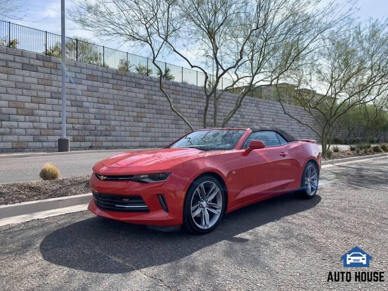 2017 Chevrolet Camaro for sale at AUTO HOUSE TEMPE in Tempe AZ
