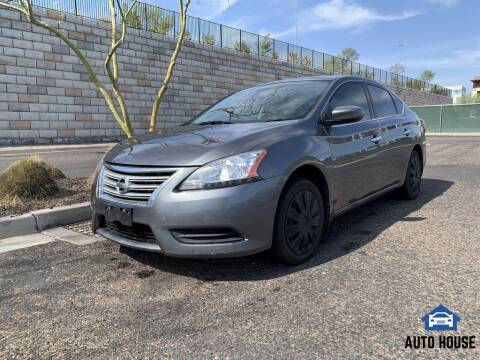 2015 Nissan Sentra for sale at AUTO HOUSE TEMPE in Tempe AZ