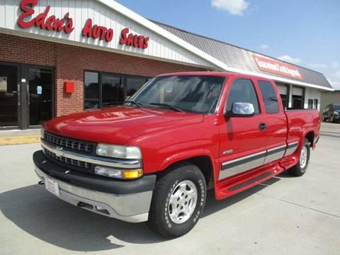 2000 Chevrolet Silverado 1500 for sale at Eden's Auto Sales in Valley Center KS