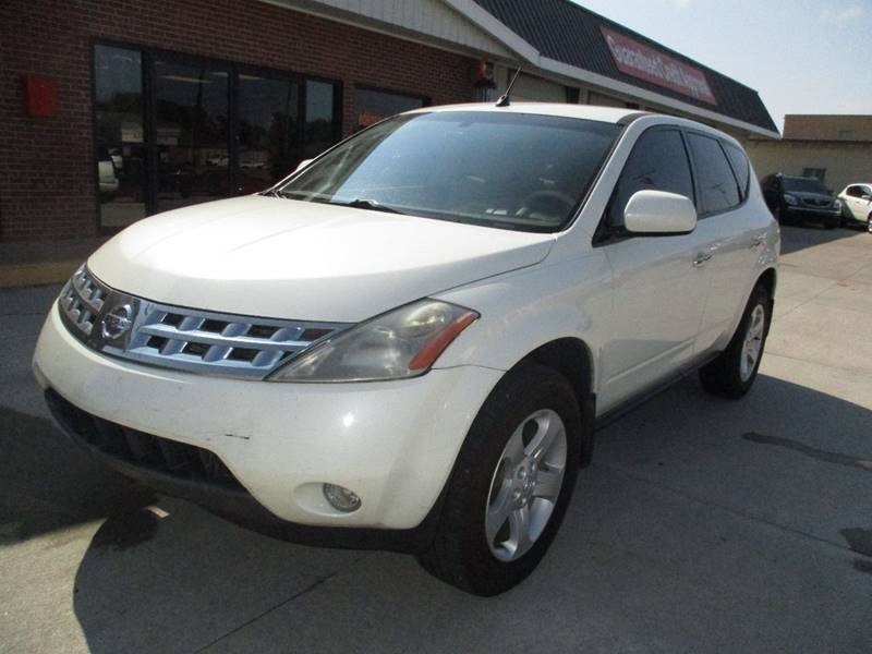 2004 Nissan Murano for sale at Eden's Auto Sales in Valley Center KS