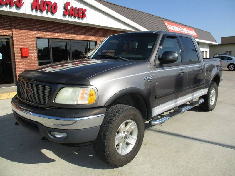 2002 Ford F-150 for sale at Eden's Auto Sales in Valley Center KS