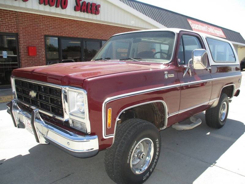 1979 Chevrolet Blazer for sale at Eden's Auto Sales in Valley Center KS