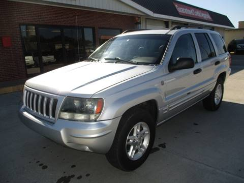 2004 Jeep Grand Cherokee for sale at Eden's Auto Sales in Valley Center KS
