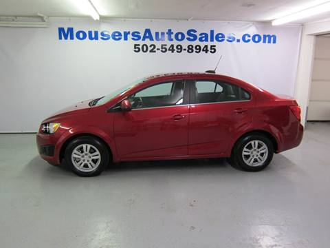 2015 Chevrolet Sonic for sale in New Haven, KY