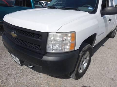 2007 Chevrolet Silverado 1500 for sale at OTTO'S AUTO SALES in Gainesville TX
