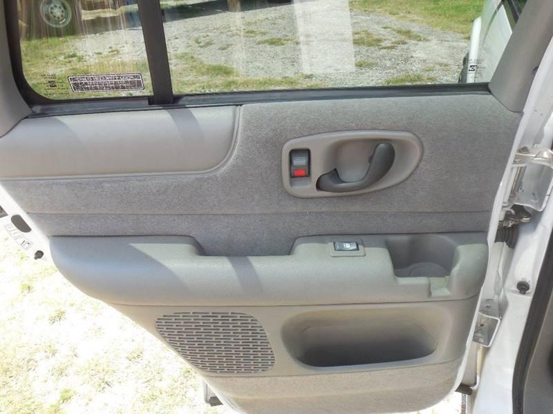 2001 Chevrolet Blazer for sale at OTTO'S AUTO SALES in Gainesville TX