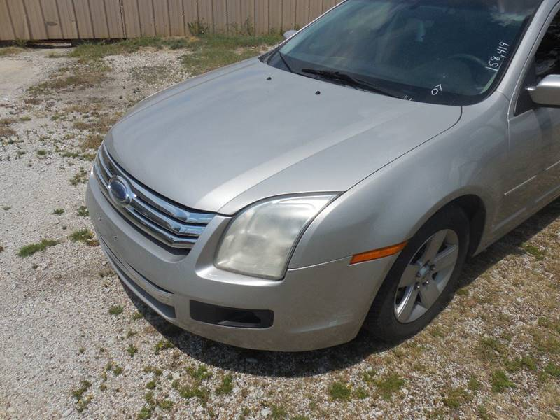 2007 Ford Fusion for sale at OTTO'S AUTO SALES in Gainesville TX