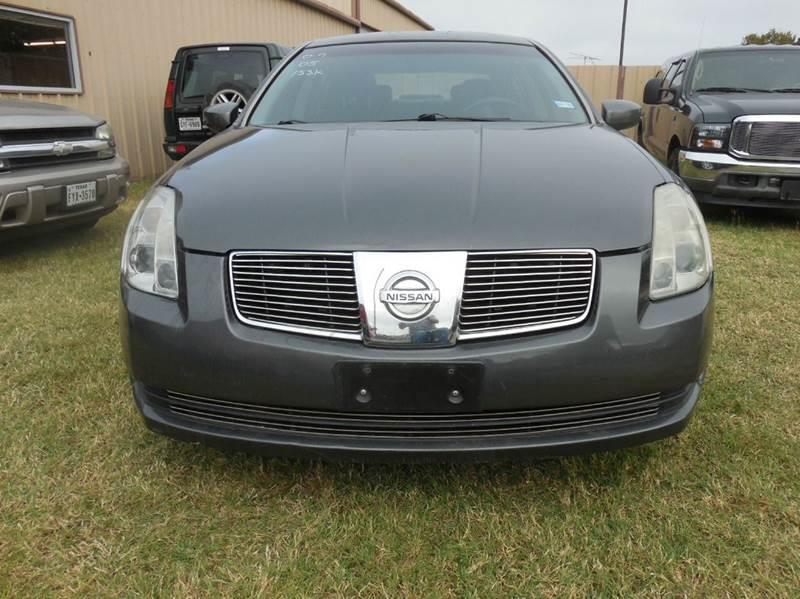2005 Nissan Maxima for sale at OTTO'S AUTO SALES in Gainesville TX