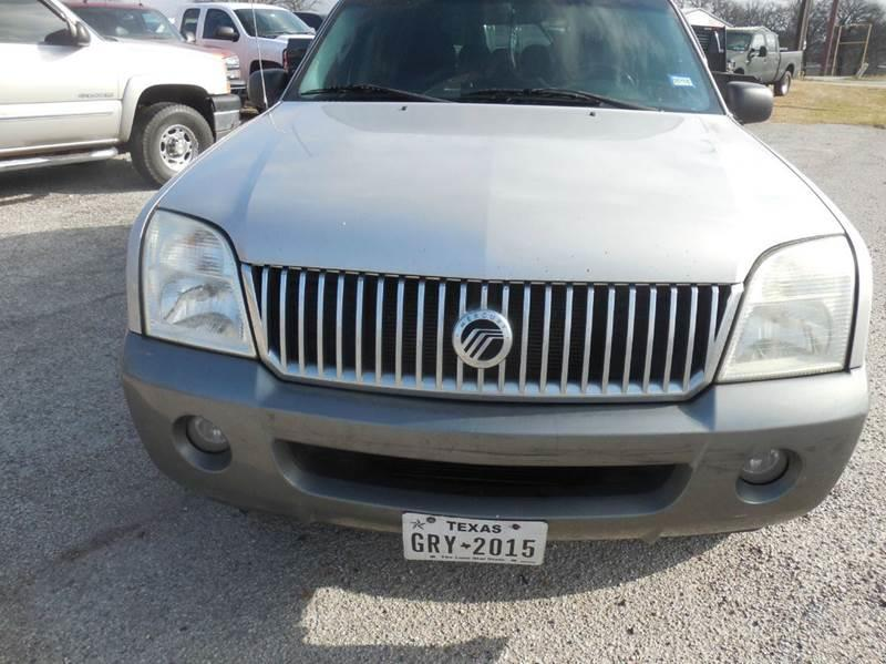 2005 Mercury Mountaineer for sale at OTTO'S AUTO SALES in Gainesville TX