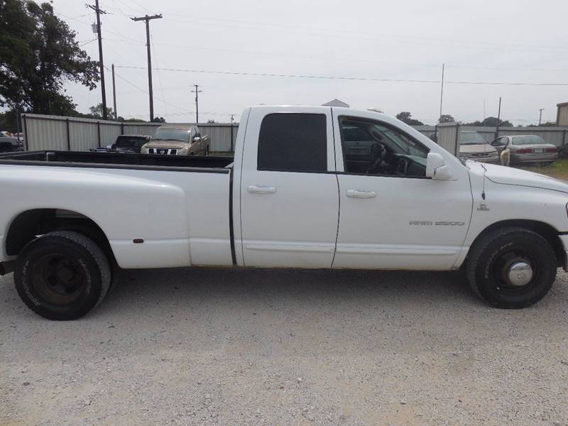 2007 Dodge Ram Pickup 3500 for sale at OTTO'S AUTO SALES in Gainesville TX