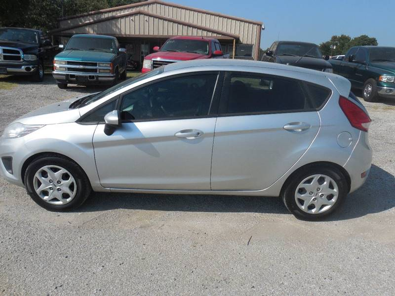 2012 Ford Fiesta for sale at OTTO'S AUTO SALES in Gainesville TX