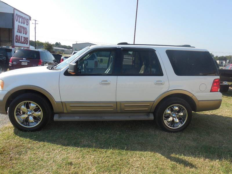 2004 Ford Expedition for sale at OTTO'S AUTO SALES in Gainesville TX