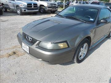 2002 Ford Mustang for sale at OTTO'S AUTO SALES in Gainesville TX